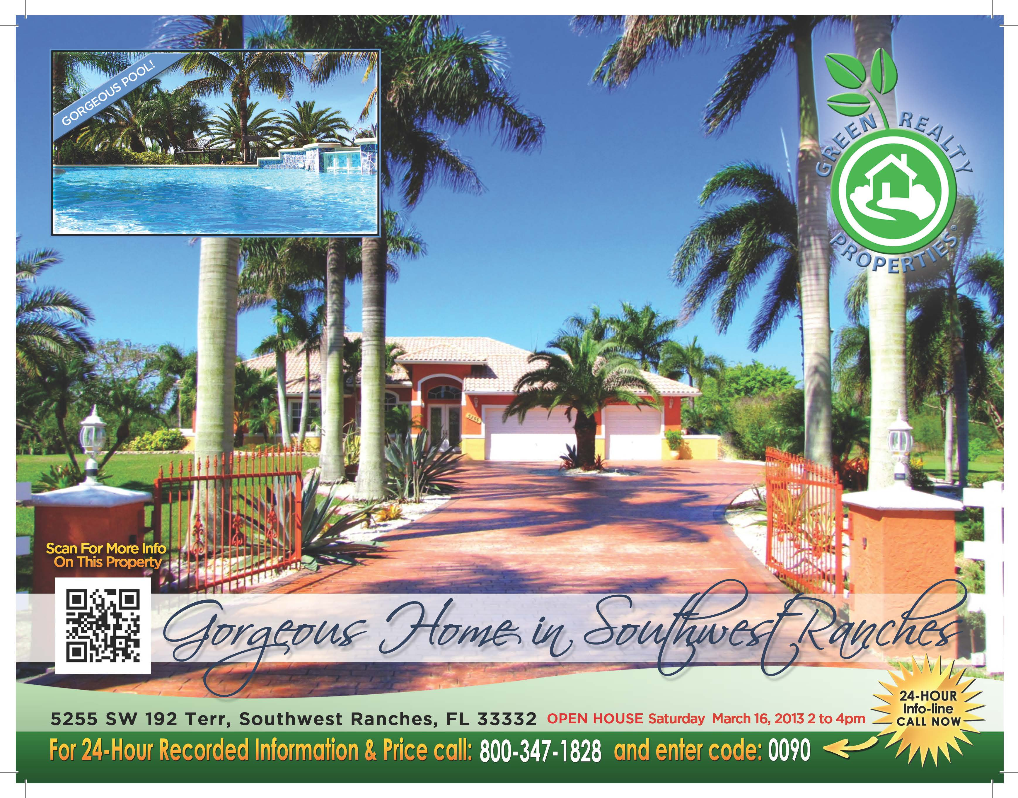 Southwest Ranches Florida Home
