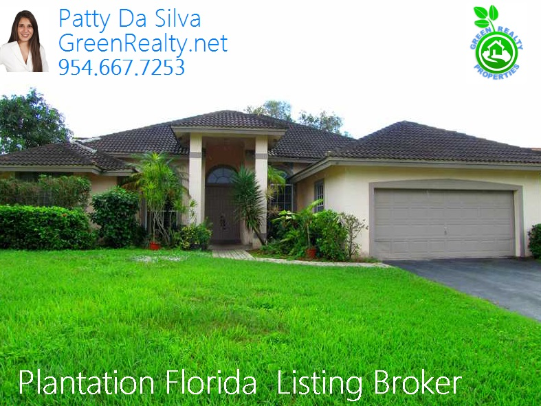 Plantation Real Estate - Plantation Listing Broker - Patty Da Silva