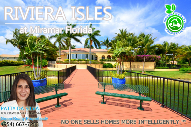 Riviera Isles Expert Listing Broker Patty Da Silva - Broker of Green Realty Properties