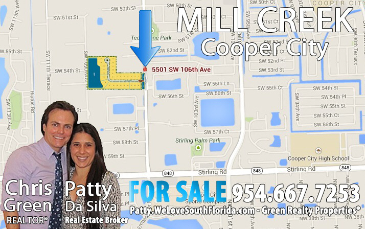 Mill Creek Cooper City Map
