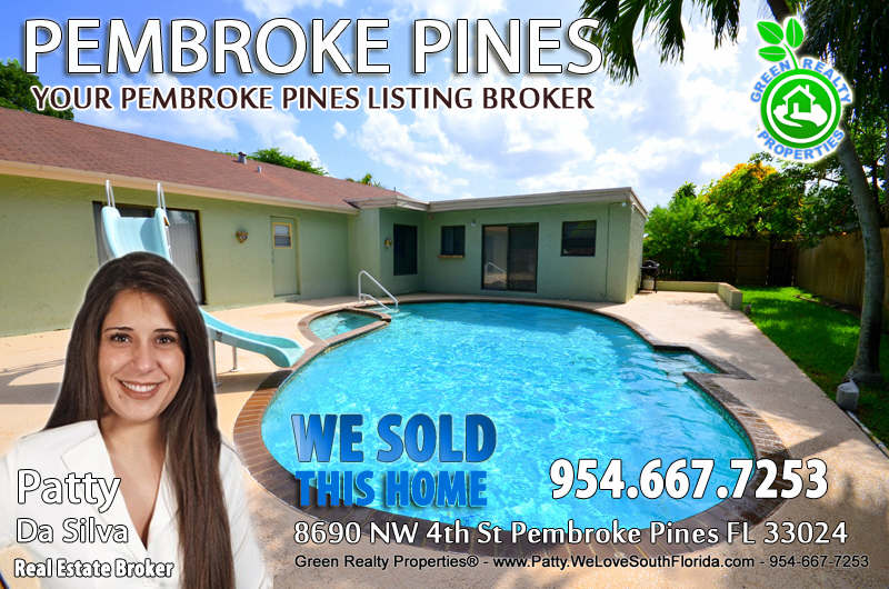 Pembroke Pines Listing Broker - Patty Da Silva