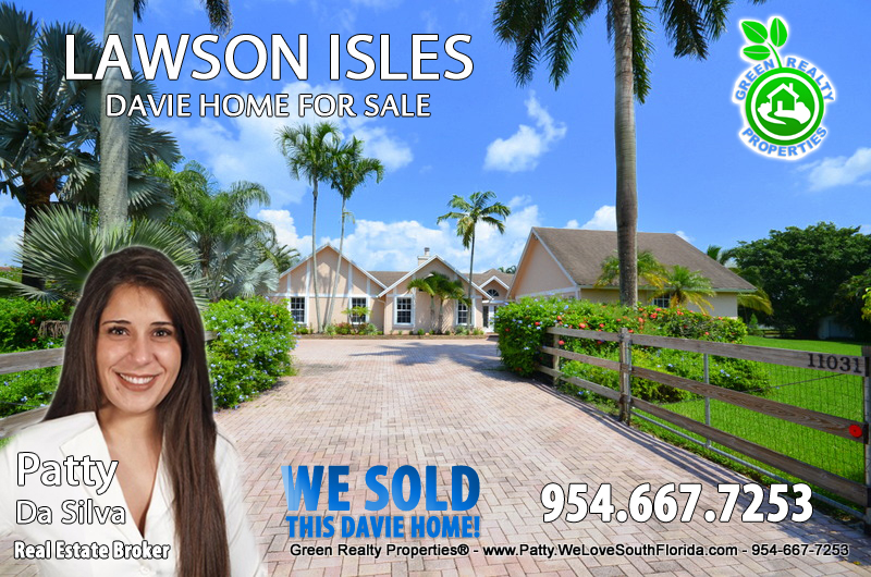 Lawson Isles Davie Homes