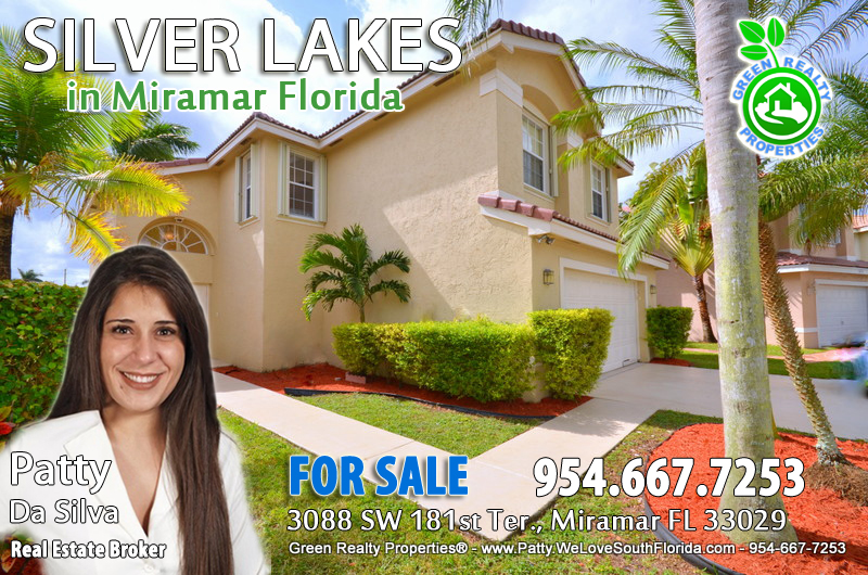 Silver Lakes Miramar Home For Sale