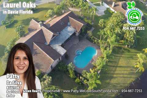 Laurel Oaks Lake and Pool Luxury Homes in Davie FL