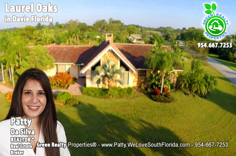 Estate Homes Sales in Davie FL Laurel Oaks