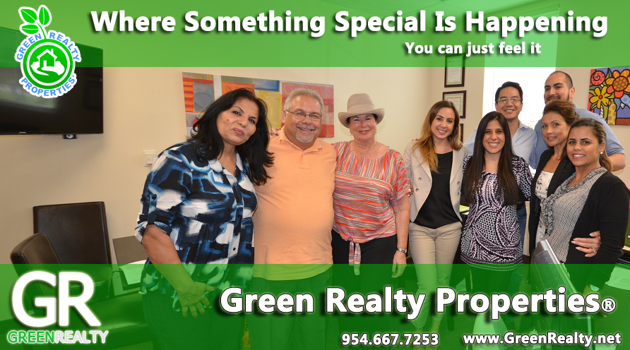 Cooper City Realtors, Davie Realtors, Pembroke Pines Realtors, Plantation Realtors, Green Realty