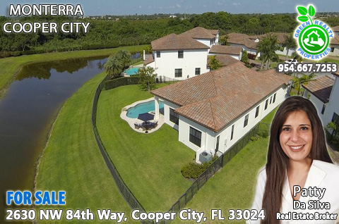 Home For Sale in Monterra Cooper City