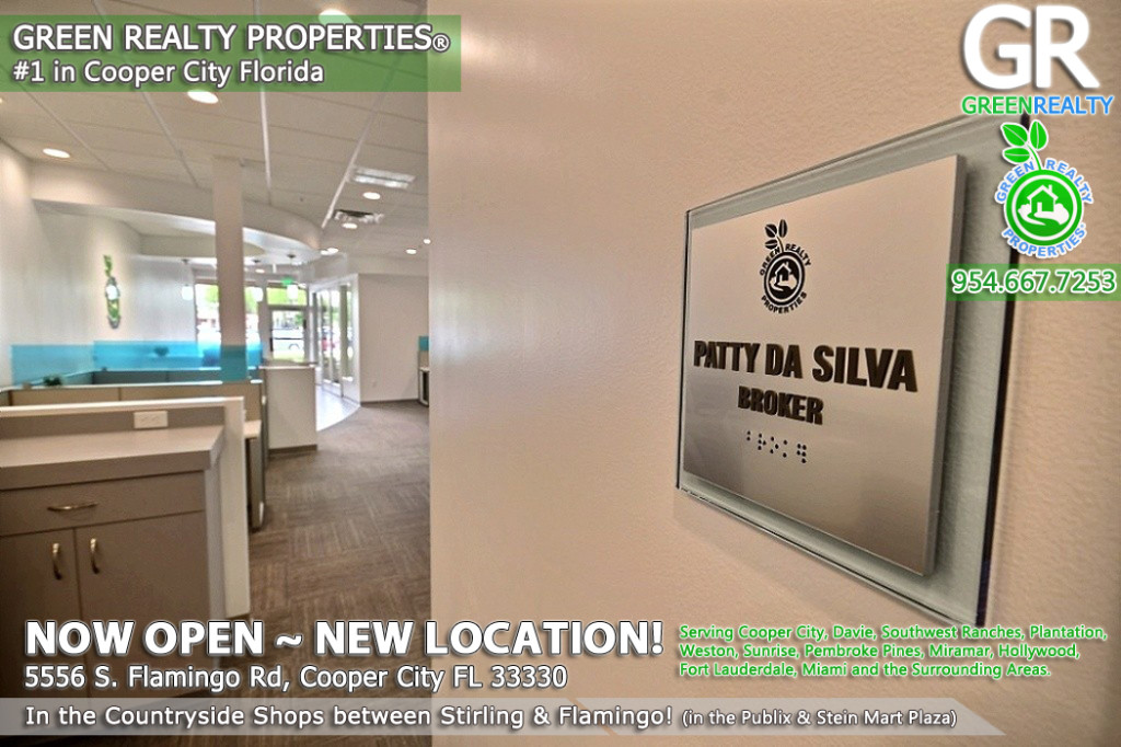 Patty Da Silva Real Estate Broker | Countryside Shops in Cooper City | Green Realty