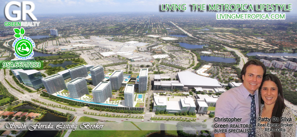 Aerial Views of Metropica Sunrise FL