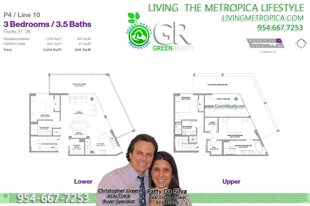 Metropica Sunrise Floor Plans