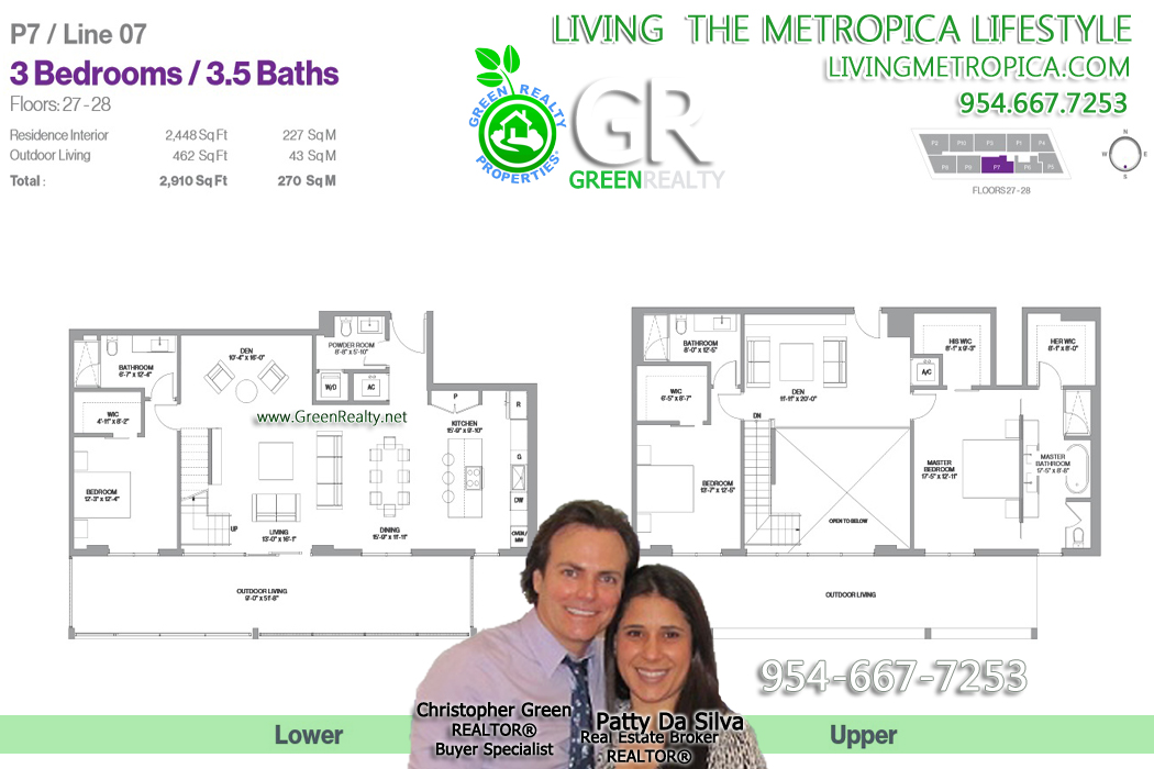 Metropica floor plan Layout