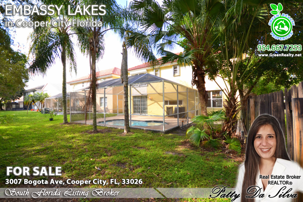 Cooper City Homes in Embassy Lakes