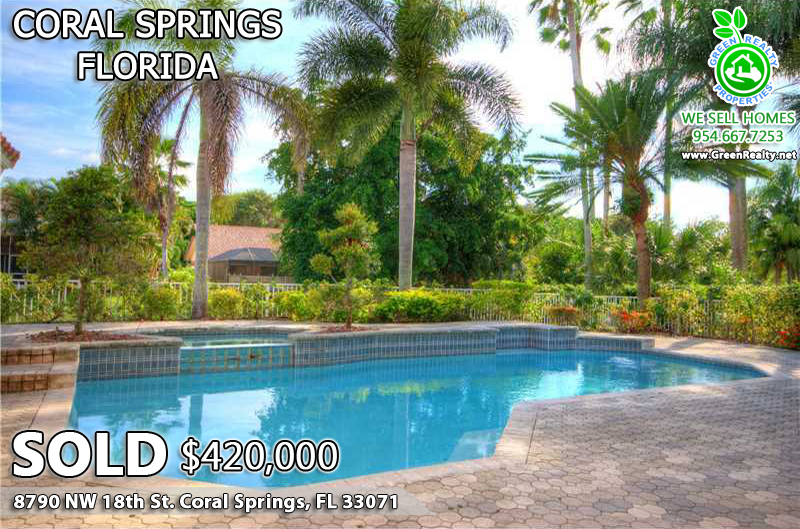 Coral Springs Pool Homes
