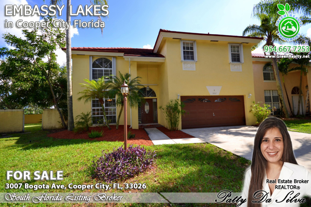 Embassy Lakes Cooper City Homes