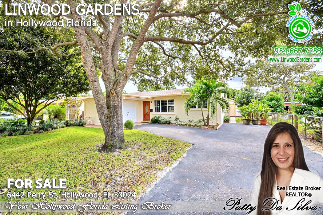 linwood gardens hollywood florida homes for sale