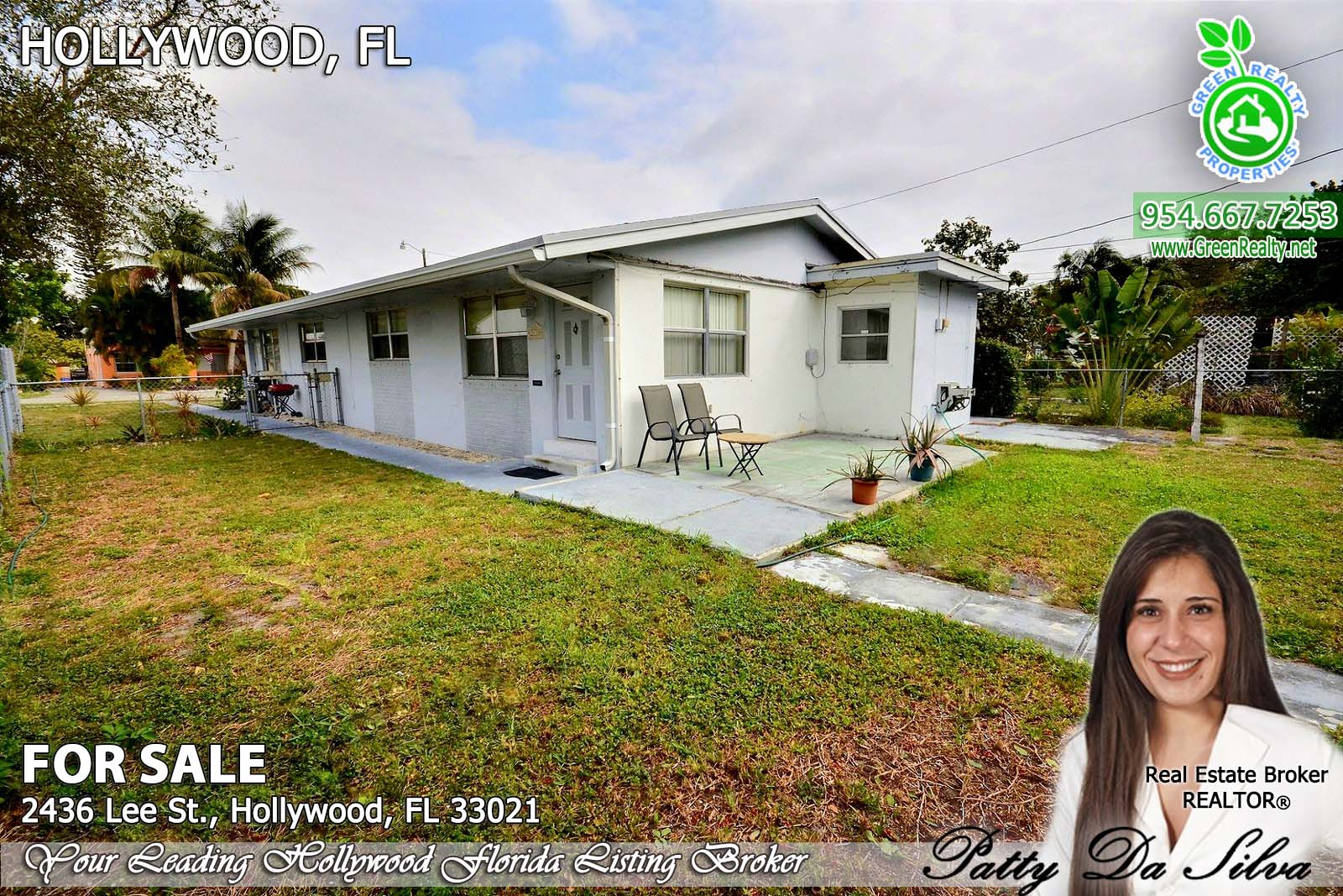 Hollywood Florida homes for investors