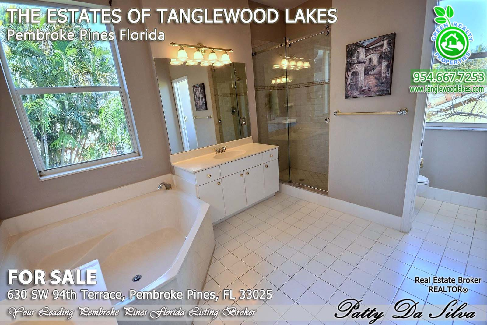 Home Values in Tanglewood Lakes in Pembroke Pines FL