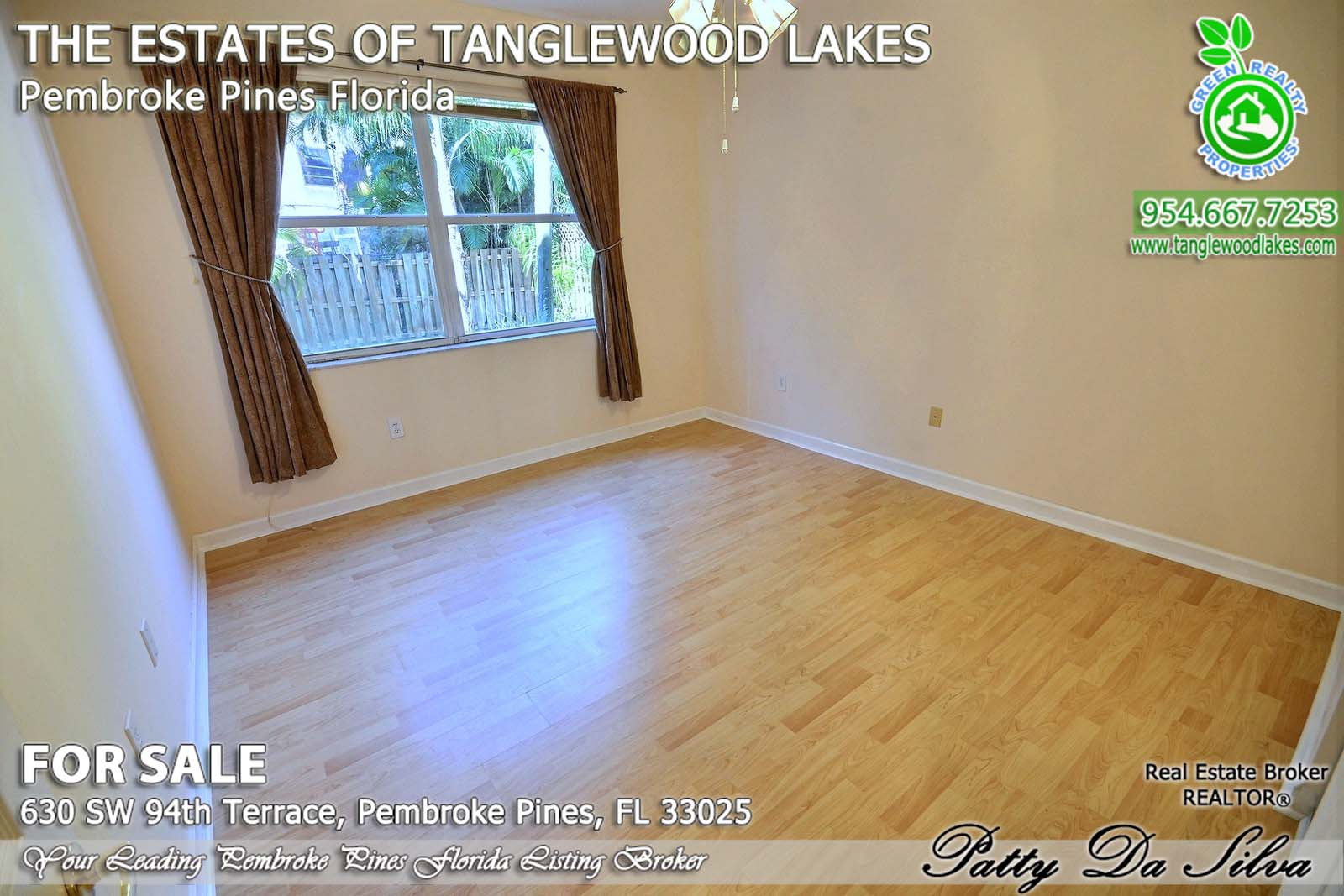 Homes for Sale in Tanglewood Lakes Pembroke Pines