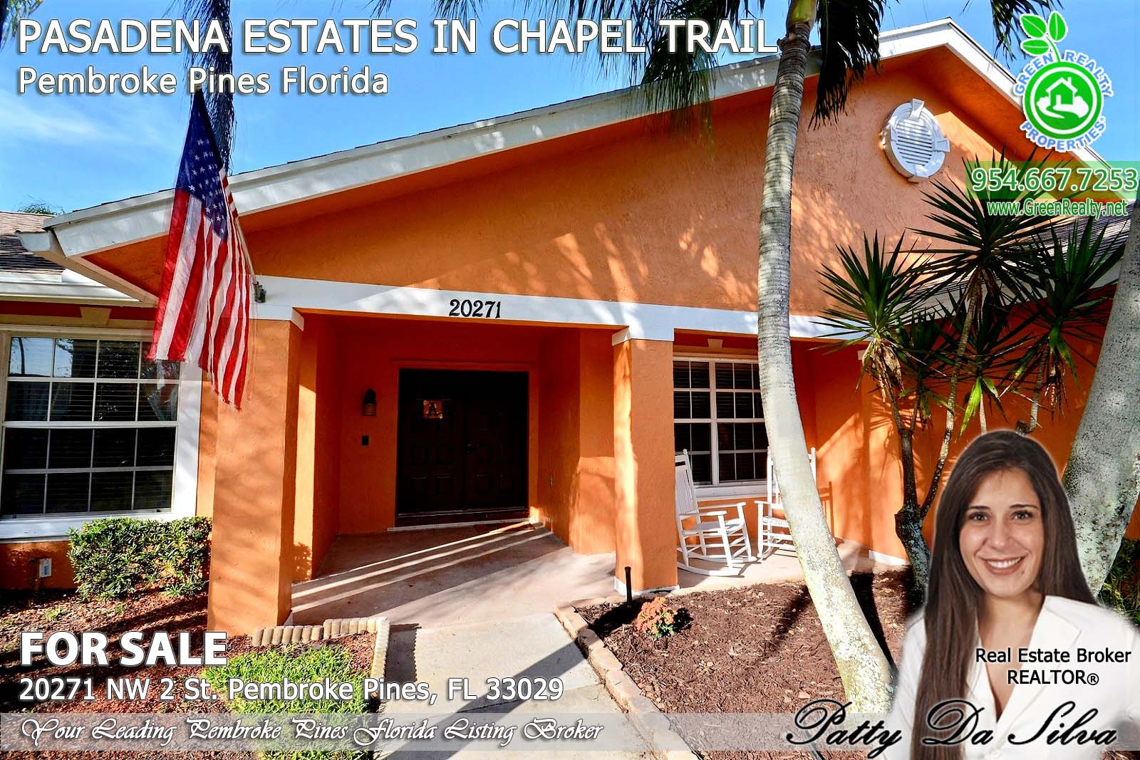 Pasadena Estates of Chapel Trail - Pembroke Pines FL brokerage