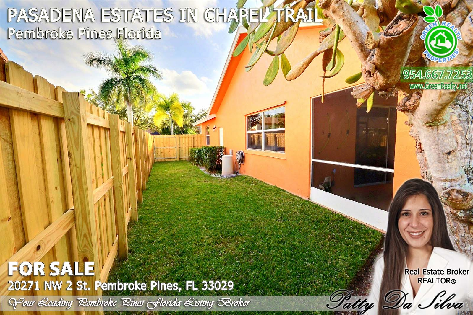 Pasadena Estates of Chapel Trail - Pembroke Pines FL homes for sale