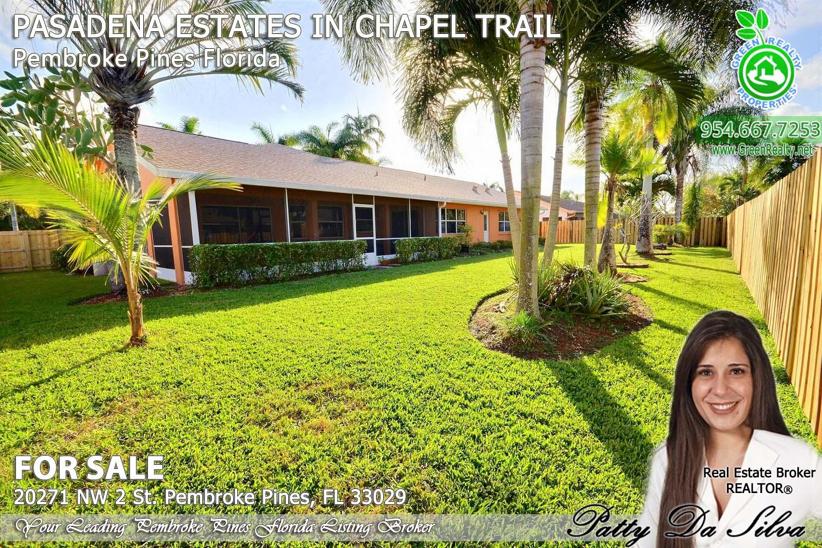 Pasadena Estates of Chapel Trail - Pembroke Pines FL real estate