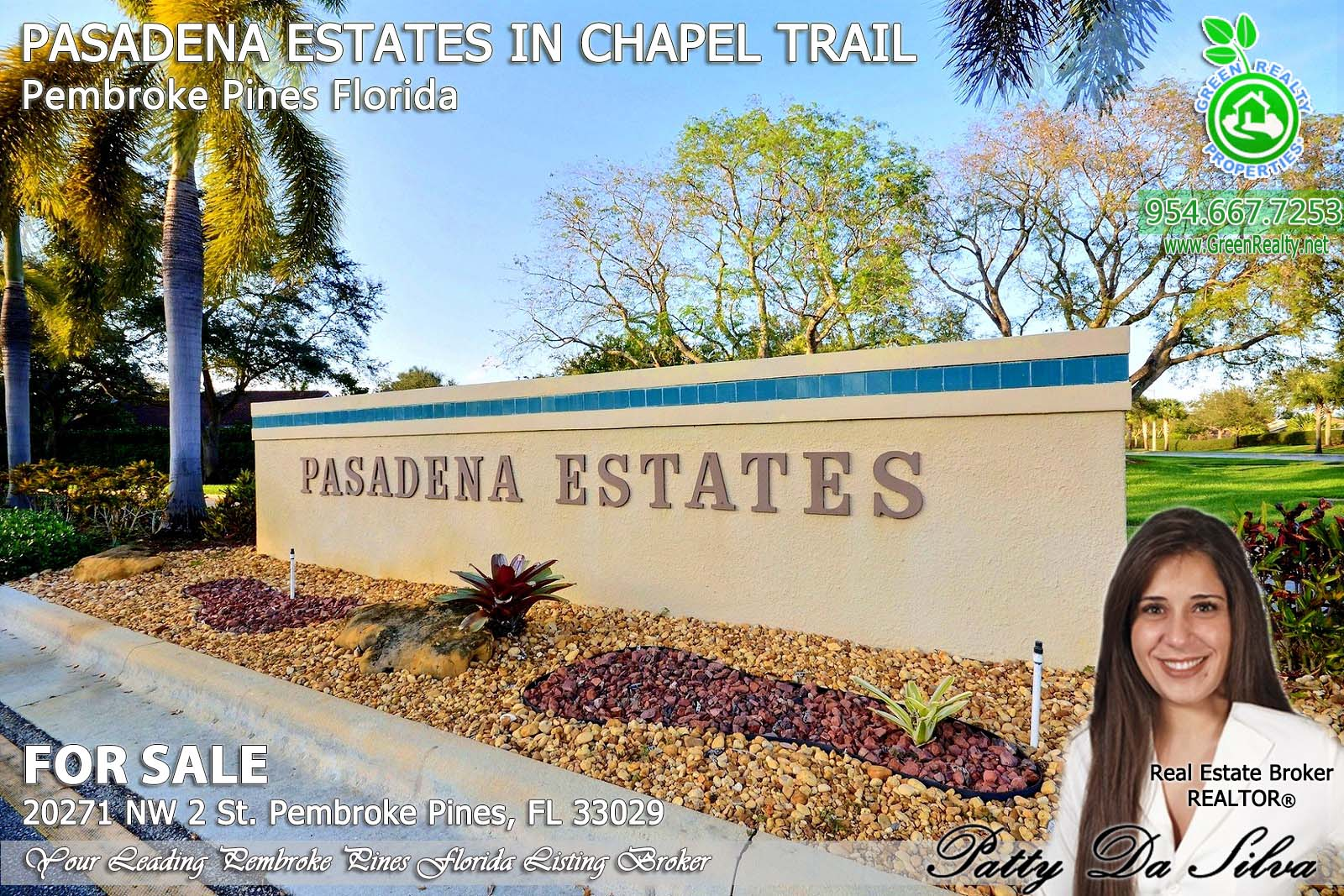 Pasadena Estates of Chapel Trail - Pembroke Pines FL sell home