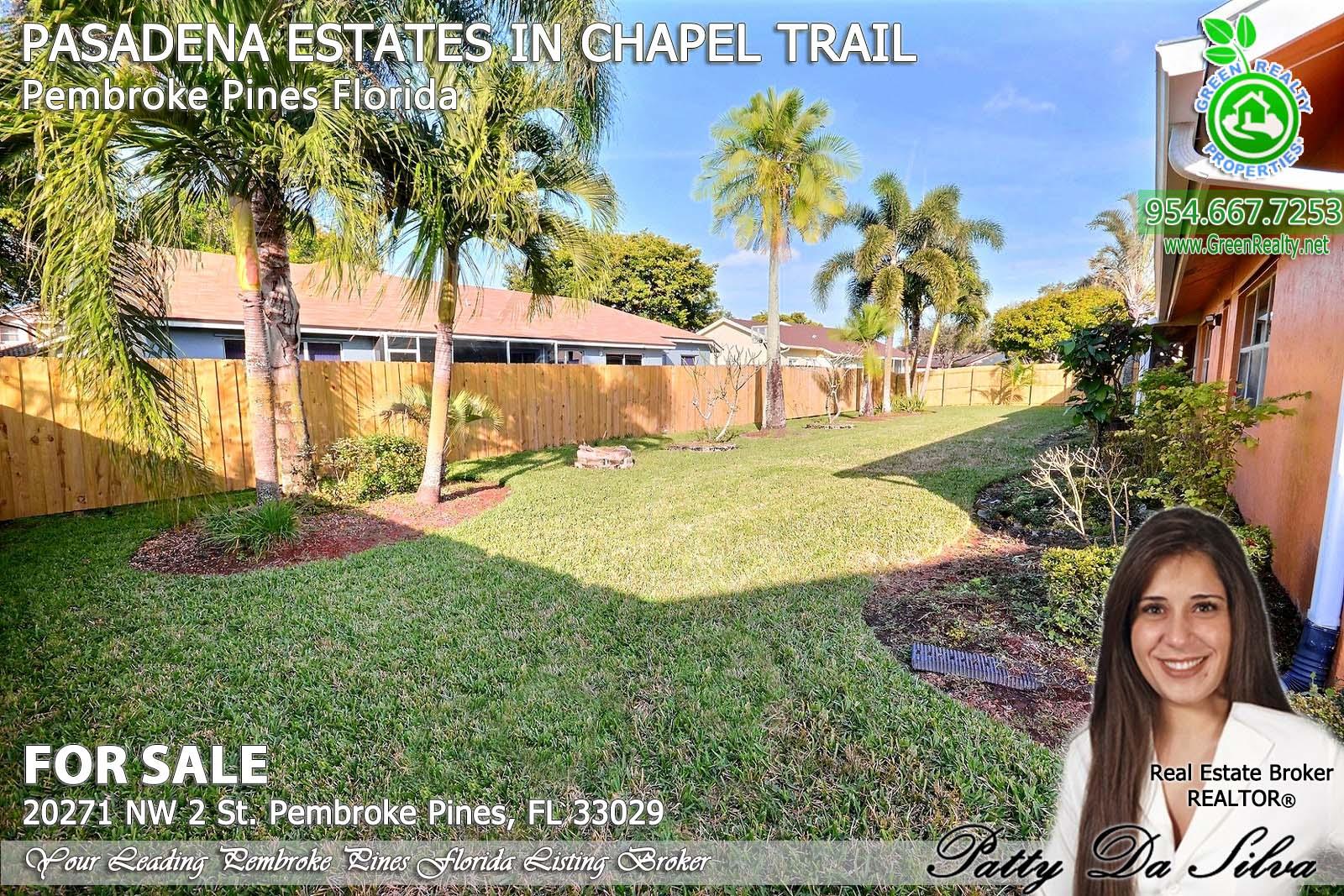 Pasadena Estates of Chapel Trail - Pembroke Pines FL south florida