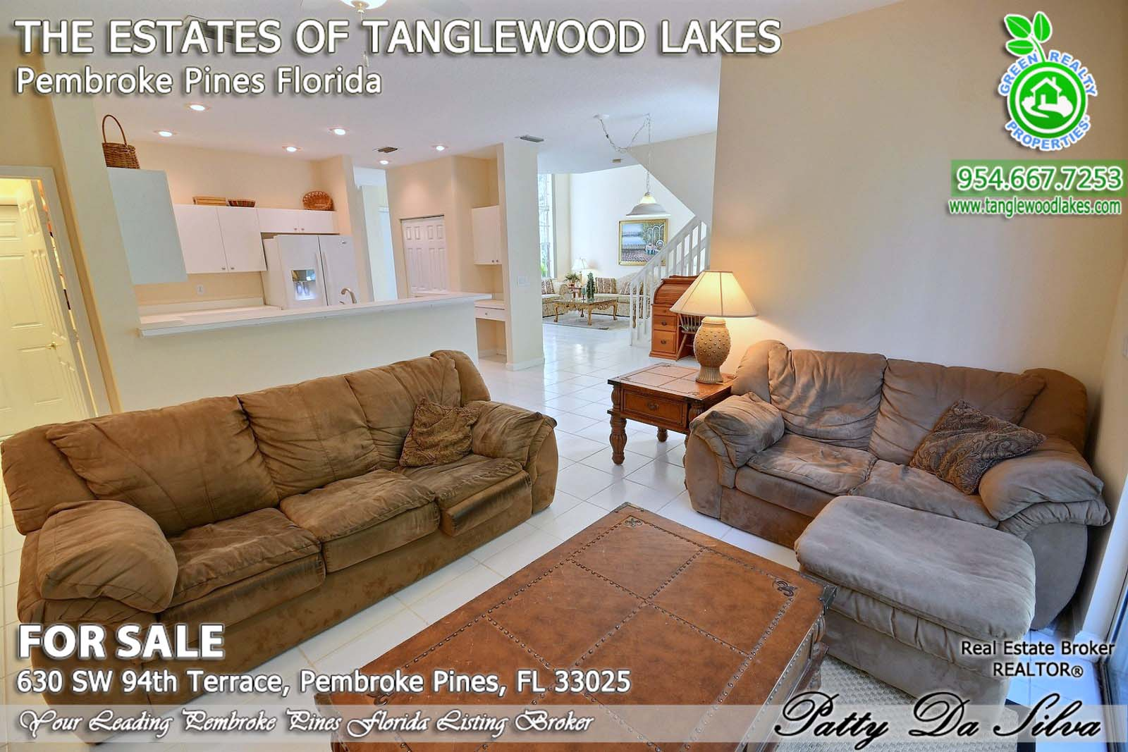 Real Estate in Tanglewood Lakes in Pembroke Pines