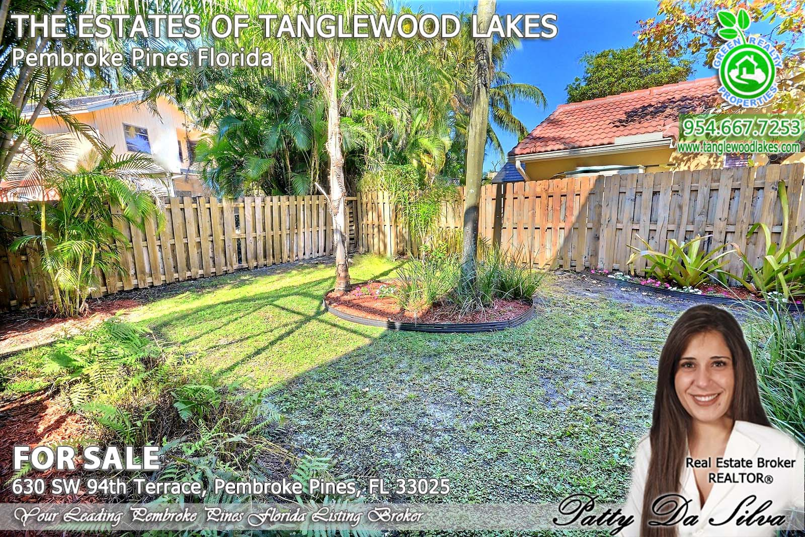 Tanglewood Lakes, Pembroke Pines Listing Agent