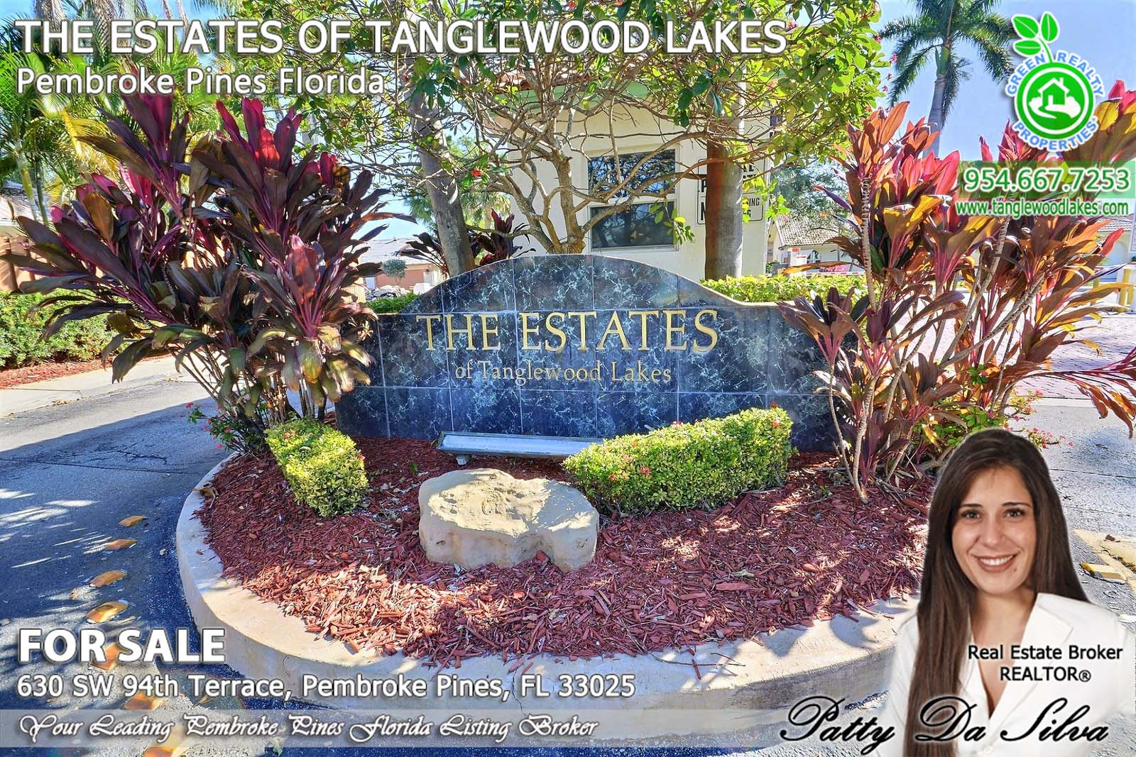 The Estates of Tanglewood Lakes Listing Broker Patty Da Silva