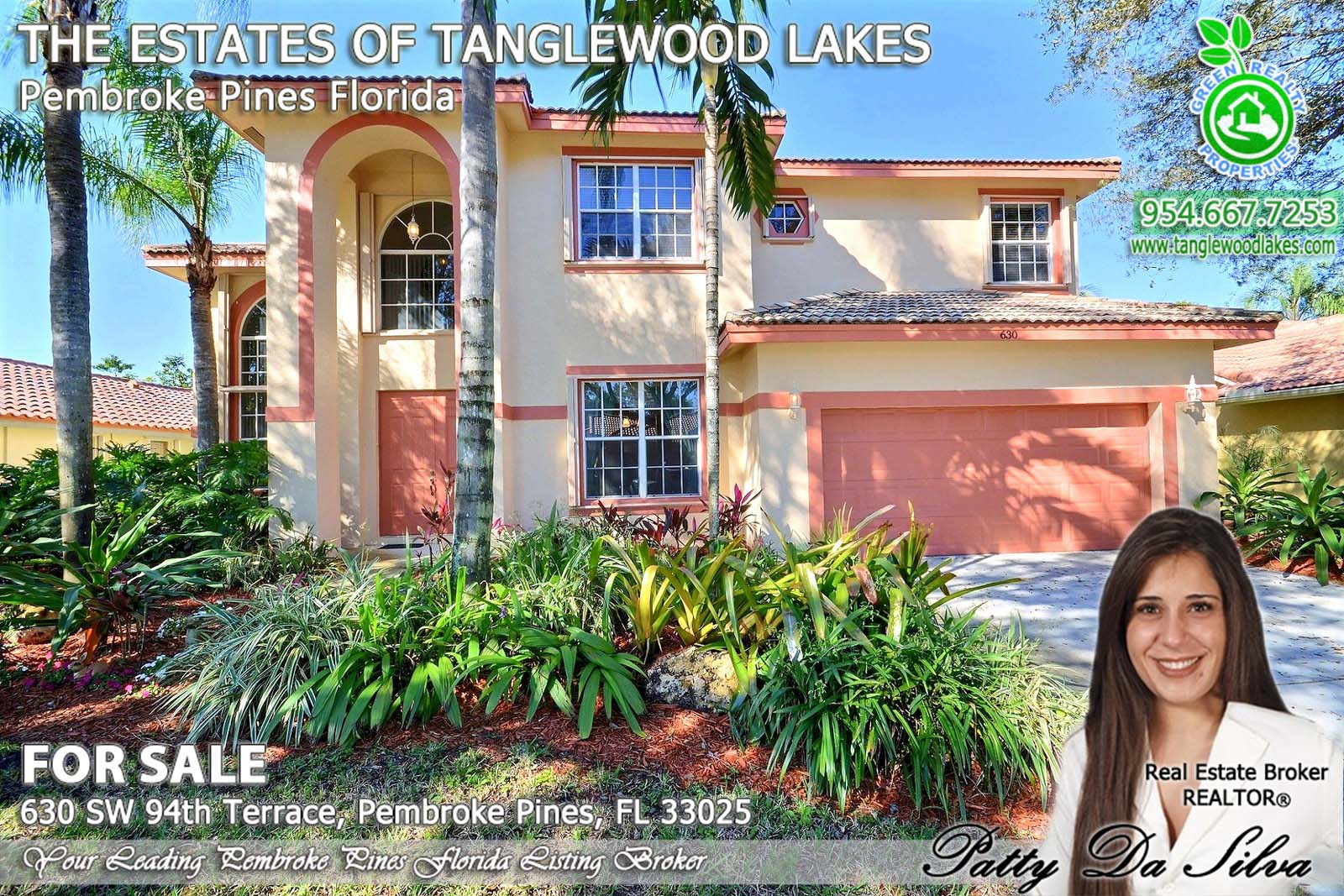 The Estates of Tanglewood Lakes agent in pembroke pines