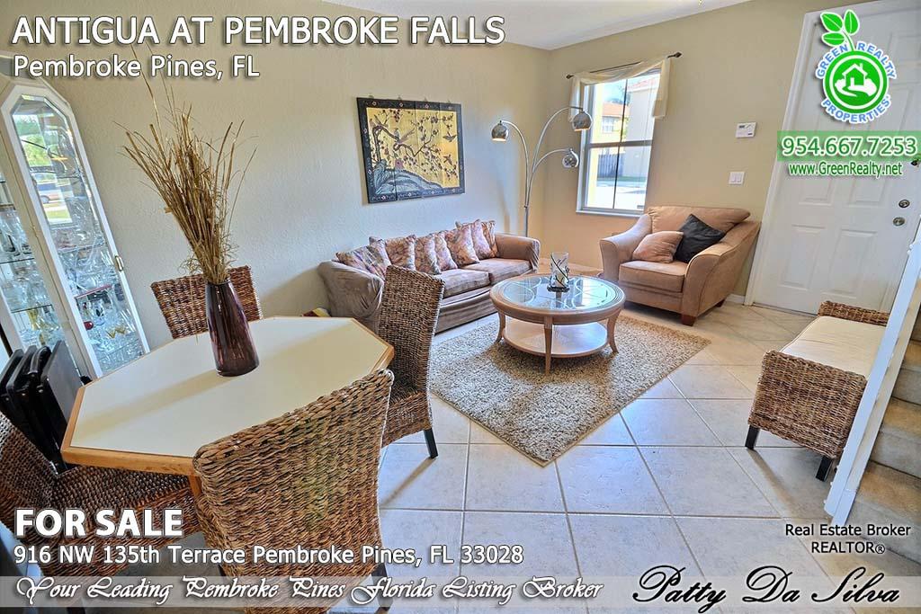 Top Pembroke Pines Realtors - 916 NW 135 Ter (6)