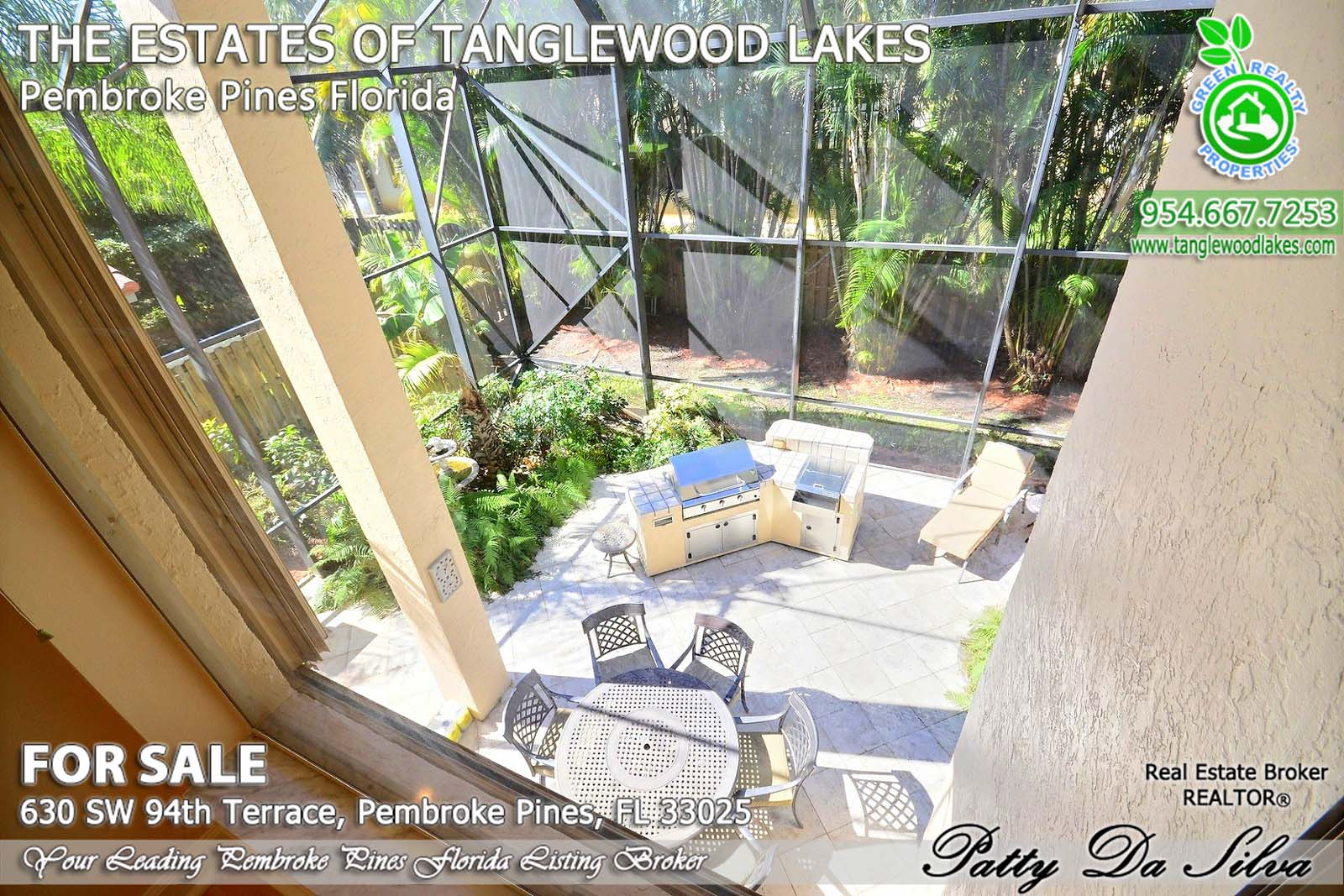 pembroke pines homes in the estates of tanglewood lakes