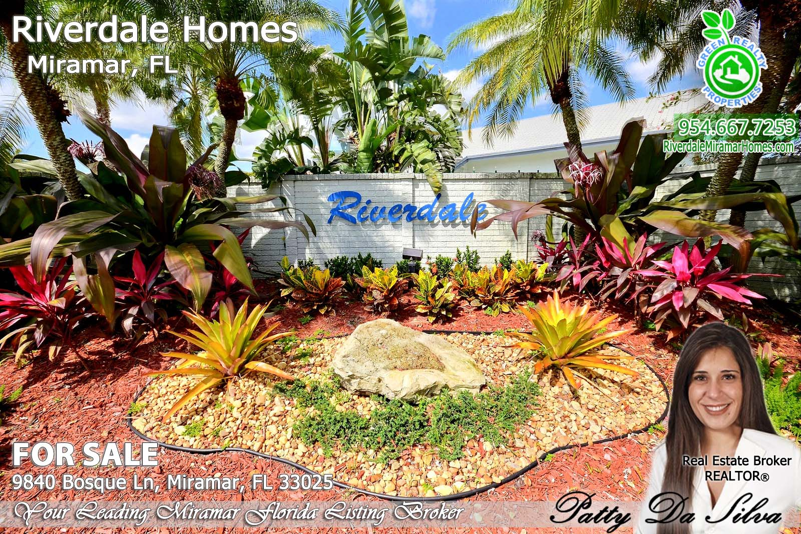 Riverdale Homes For Sale in Miramar Florida - 9840 Bosque Lane (28)
