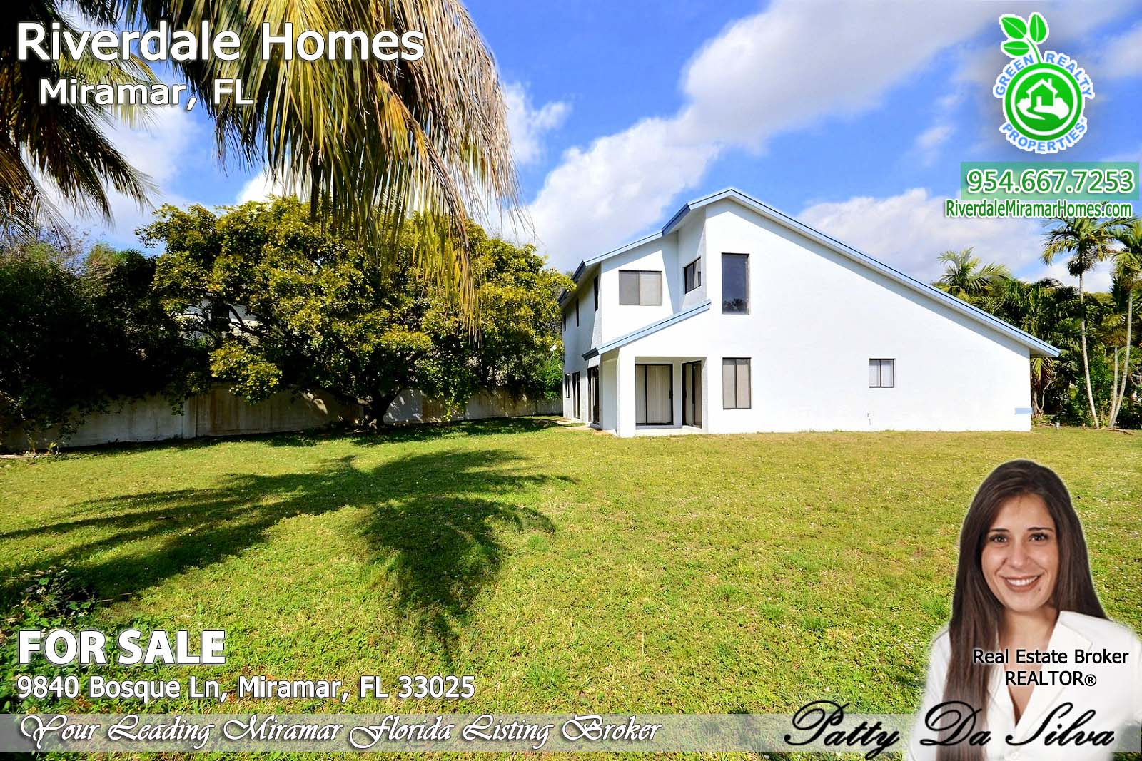 Riverdale Homes For Sale in Miramar Florida - 9840 Bosque Lane (5)