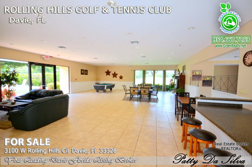3100 Rolling Hills, Davie FL - Club House