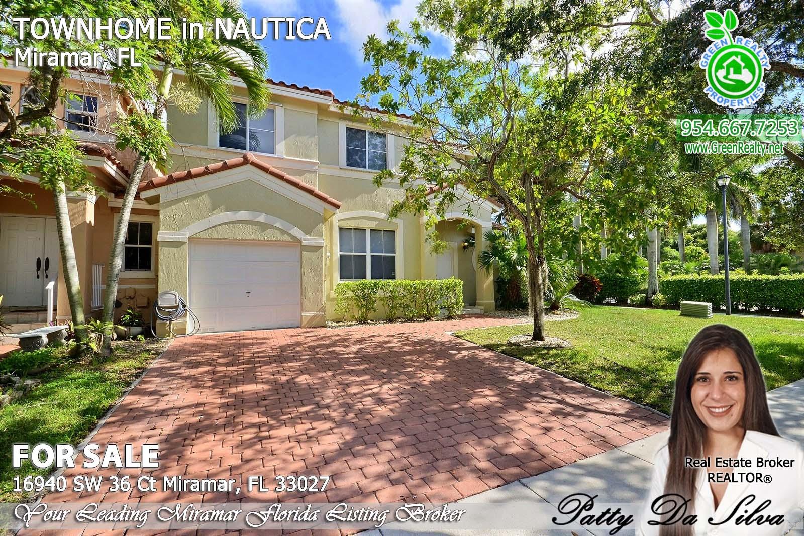 16940 SW 36 Ct Miramar, FL 33027 - Nautica Miramar Homes For Sale (2)