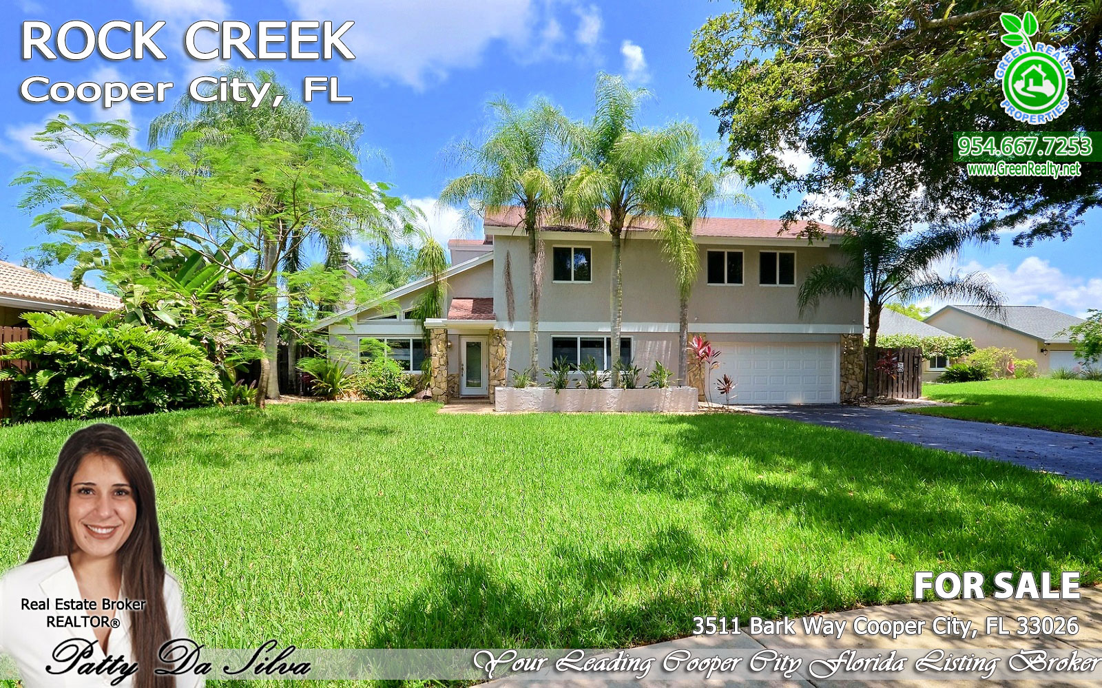 Waterview Pool Home at Rock Creek in Cooper City, FL for