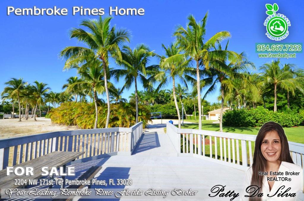 Pembroke Isles Pier in Pembroke Pines FL