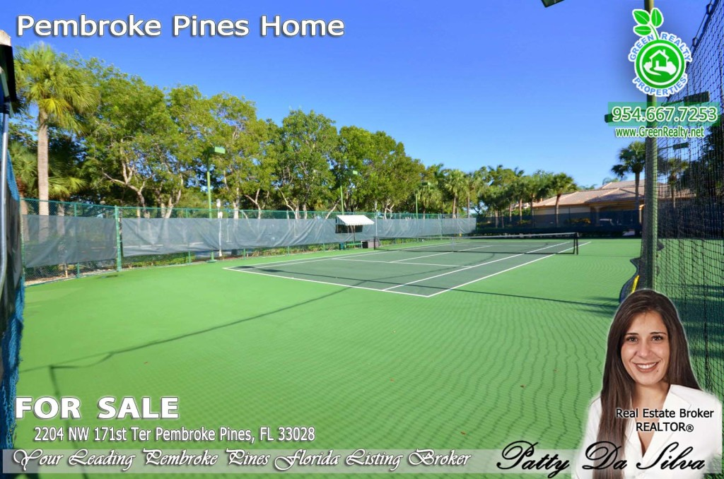Pembroke Isles Community Photos - Tennis Courts