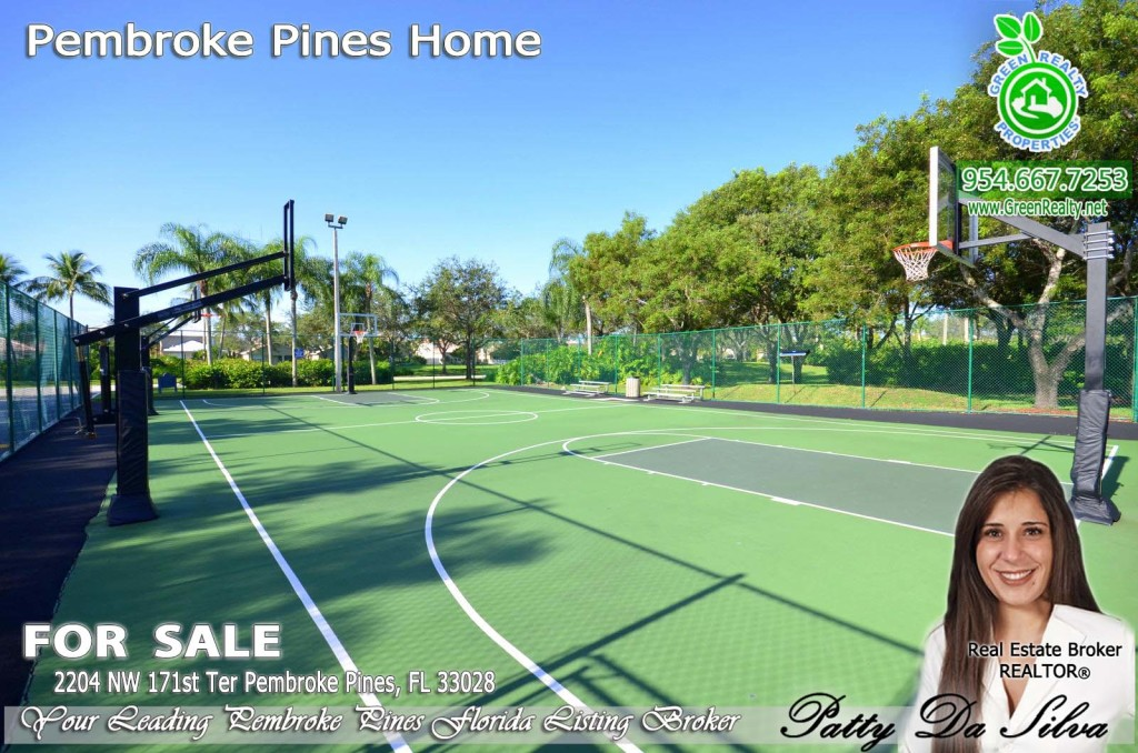 Pembroke Isles Basketball Court Photos