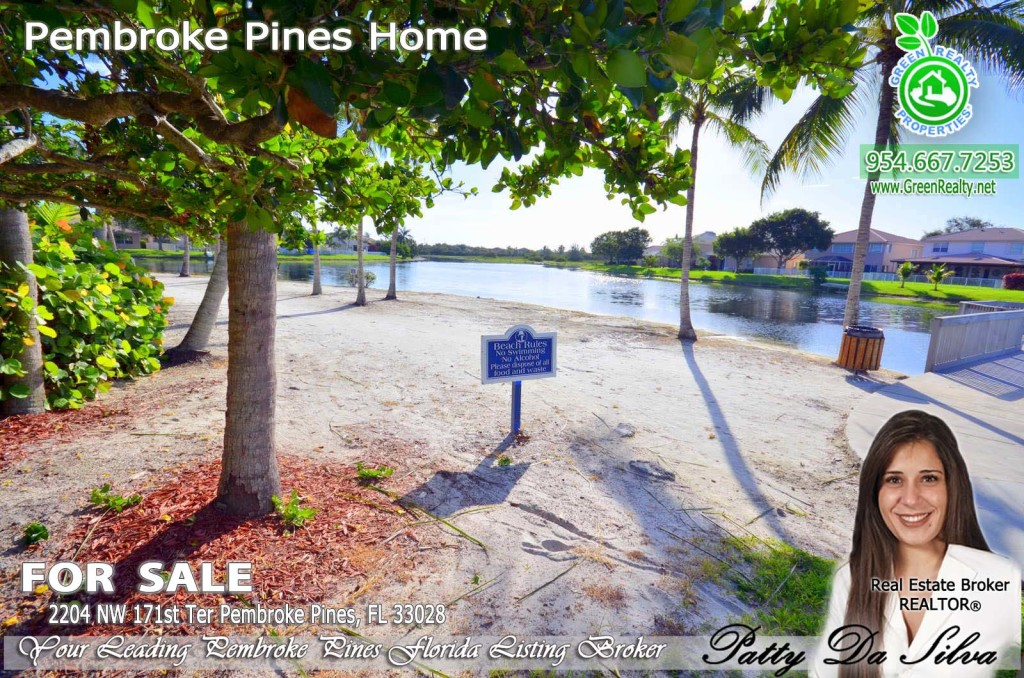 Pembroke Isles Beach Lake Front Community Photos