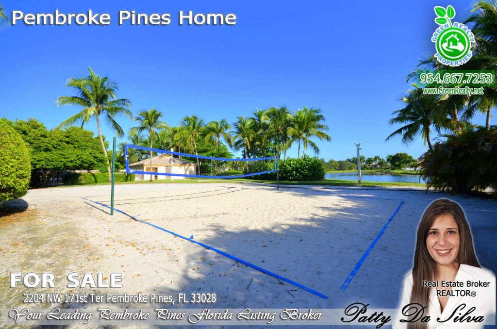Pembroke Isles Community Beach Volleyball Court