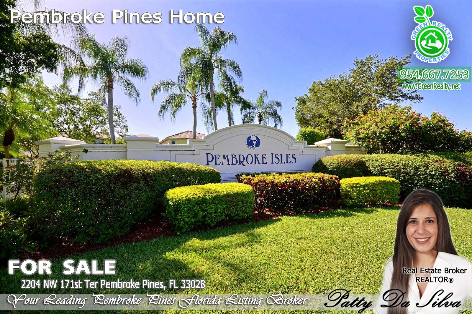 Pembroke Isles Homes For Sale - 2204 NW 171 (2)