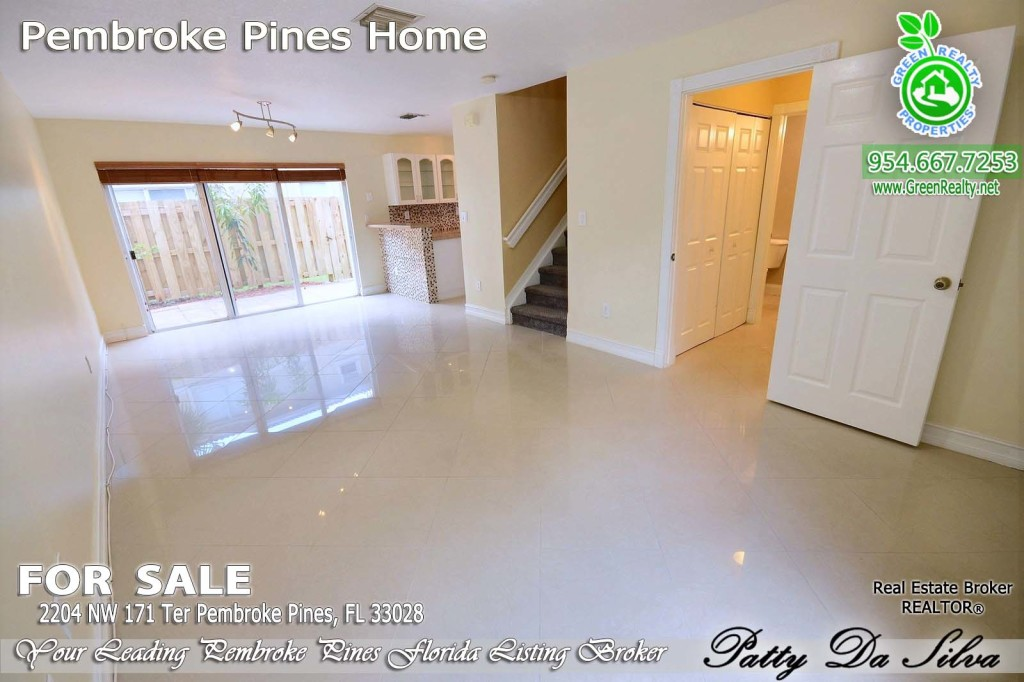 Pembroke Isles Listing Broker - Patty Da Silva Sells Homes