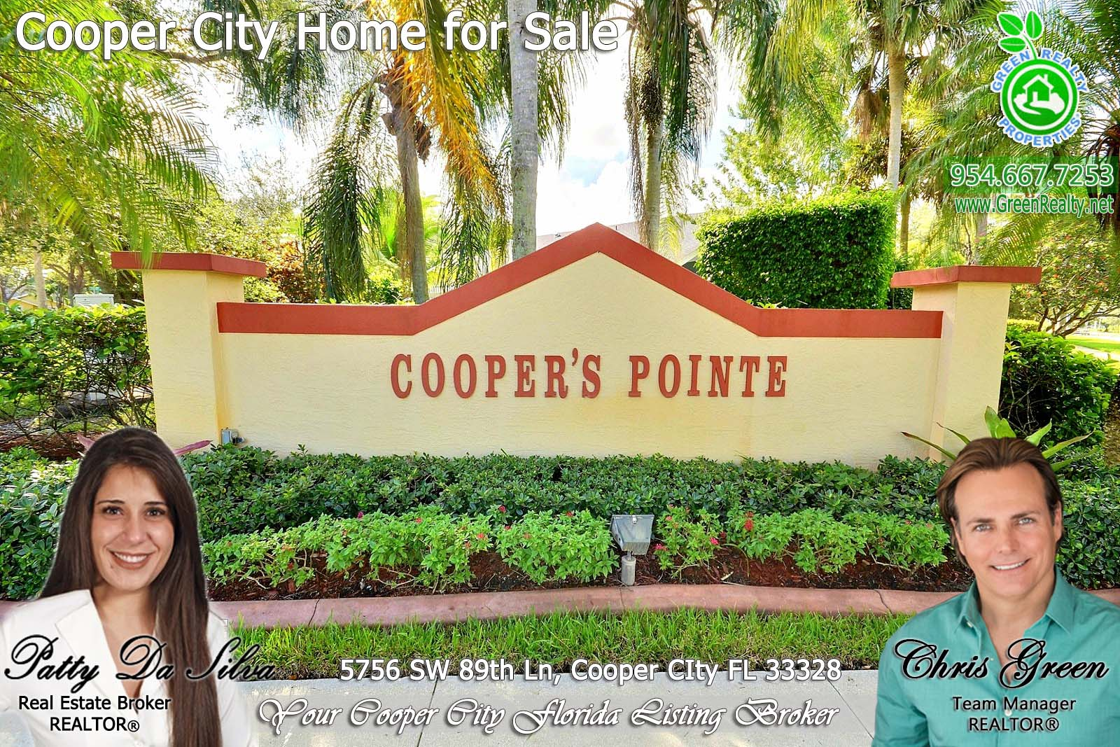 Patty Da Silva SELLS Cooper City Homes