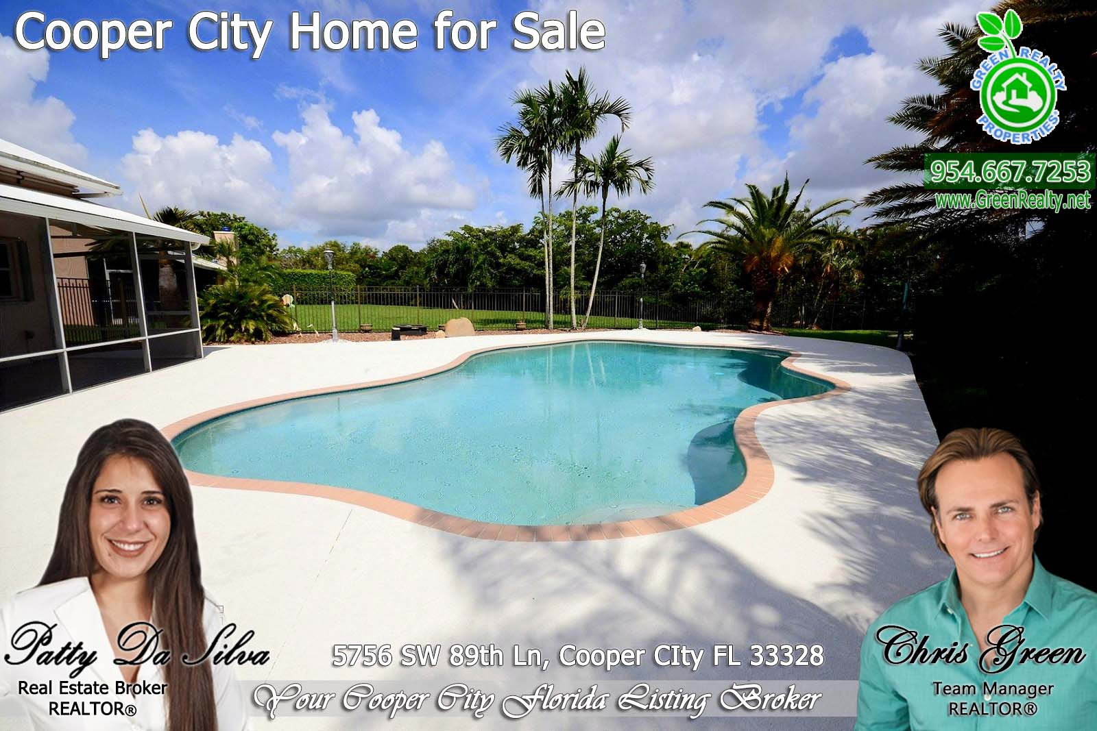 Coopers Pointe cooper city homes for sale