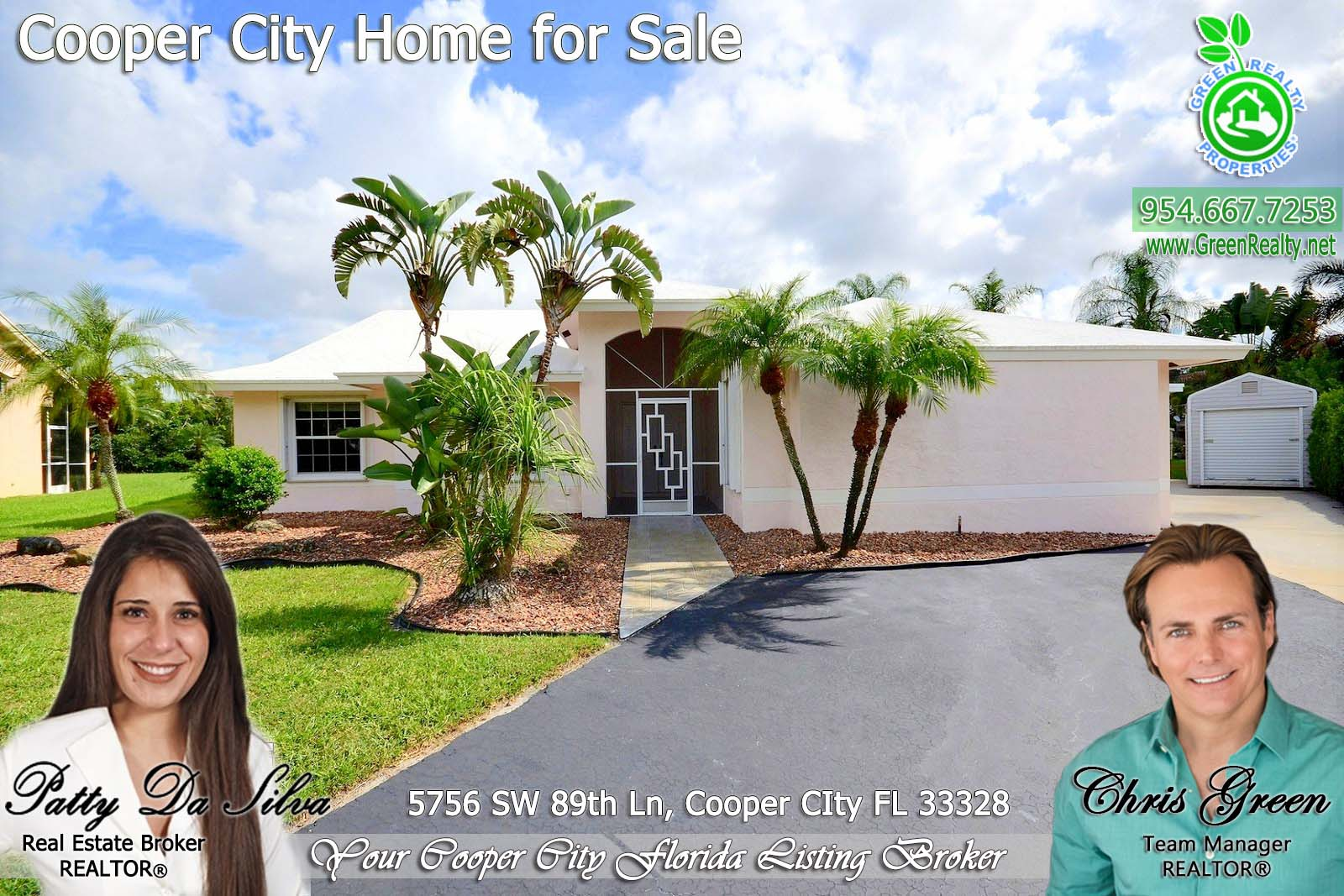 Coopers Pointe - Cooper City Florida Homes For Sale - Patty Da Silva SELLS Cooper City Homes