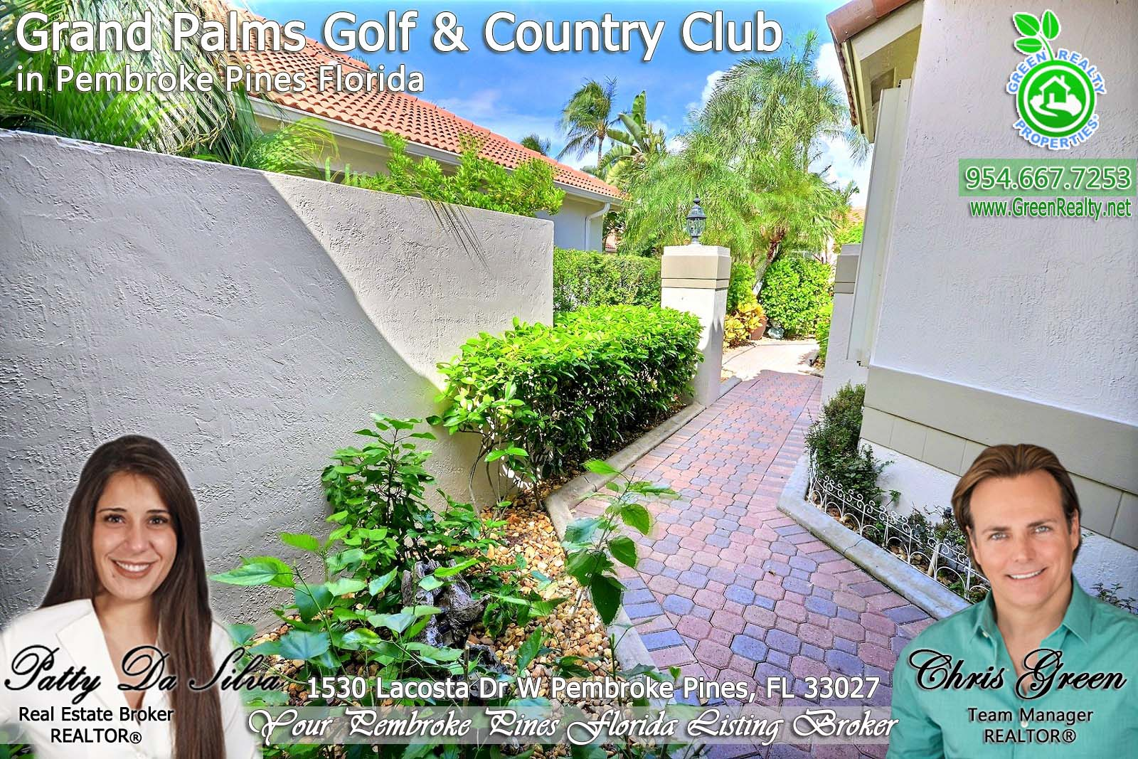 Homes For Sale in Grand Palms Pembroke Pines FL