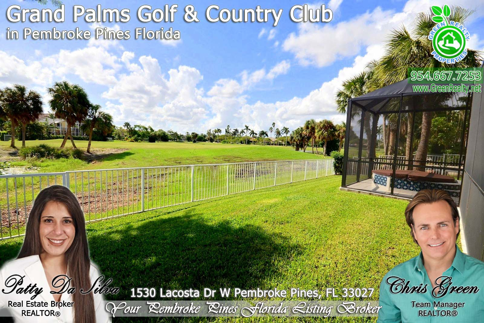 Pembroke Pines Grand Palms hHmes For Sale